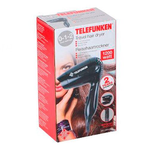 سشوار مسافرتی مدل Telefunken 22333