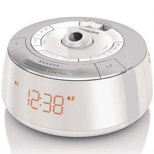 رادیو ساعت پروژکتور دار فیلیپس مدل AJ5030/12 (استوک)