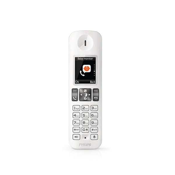 تلفن بیسیم فیلیپس منشی دار D6051W