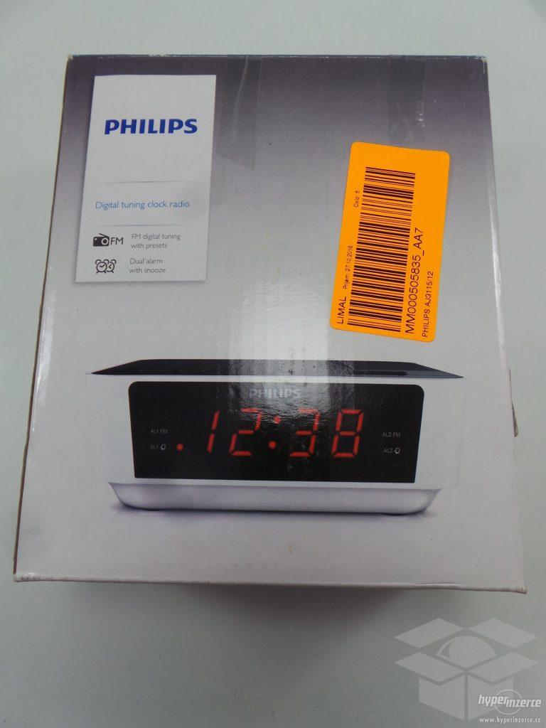 رادیو ساعت استوک فیلیپس مدل AJ3115