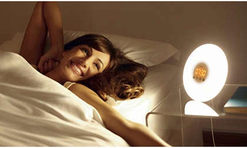 چراغ خواب و ساعت زنگ دار فیلیپس مدل HF3500
