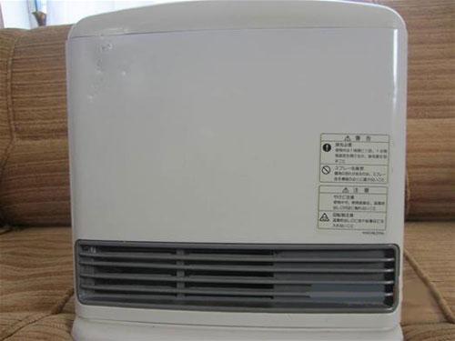 بخاری گازی برقی استوک بدون دودکش 2044 کیلو کالری نوریتز
