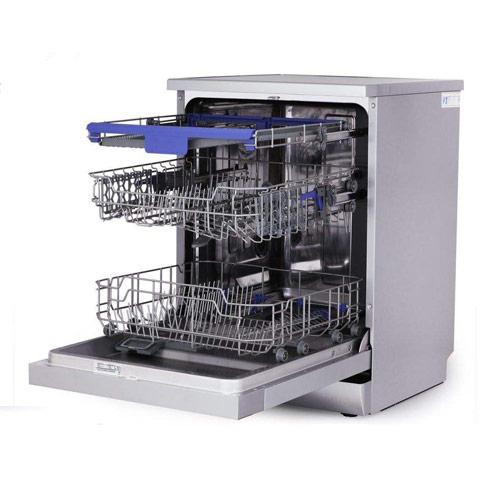 ماشین ظرفشویی 14 نفره نقره ای پاکشوما مدل MDF-14304