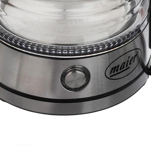 چای ساز رو هم شیشه ای مایر مدل MR-2044