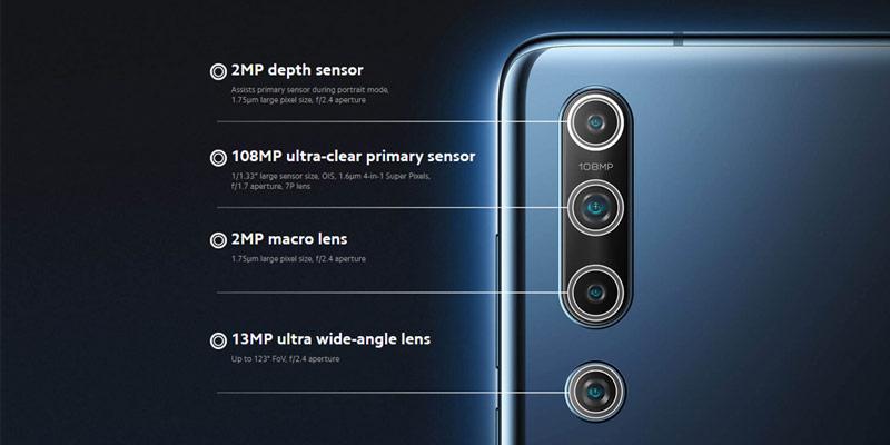 دوربین گوشی شیائومی Mi 10 5G ظرفیت 128 گیگابایت