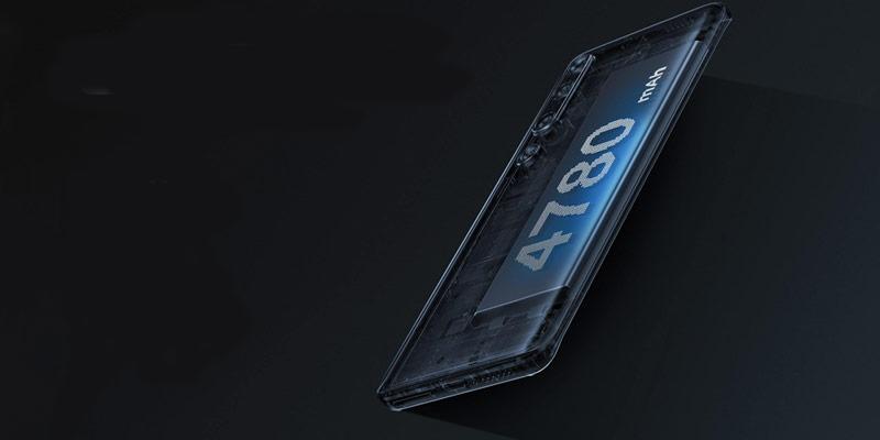 باتری گوشی شیائومی Mi 10 5G ظرفیت 128 گیگابایت