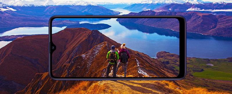 صفحه نمایش گوشی سامسونگ گلکسی A20s ظرفیت 64 گیگابایت