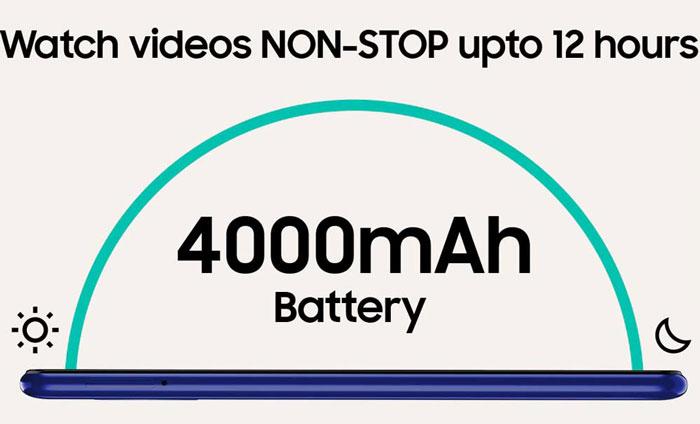 باتری گوشی سامسونگ گلکسی M01 ظرفیت 32 گیگابایت