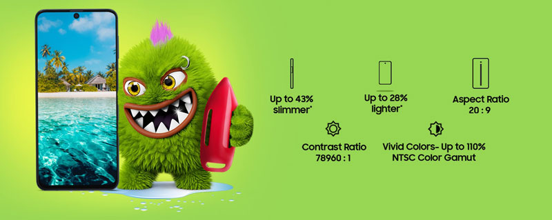 گوشی سامسونگ گلکسی M51 ظرفیت 128 گیگابایت