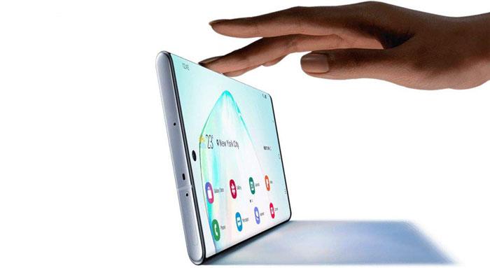 صفحه نمایش گوشی سامسونگ گلکسی Note 10 ظرفیت 256 گیگابایت