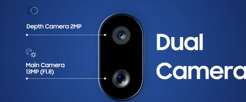 دوربین گوشی سامسونگ گلکسی A10s ظرفیت 32 گیگابایت