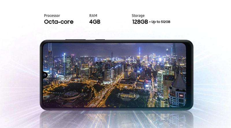 صفحه نمایش گوشی سامسونگ گلکسی A31 ظرفیت 128 گیگابایت