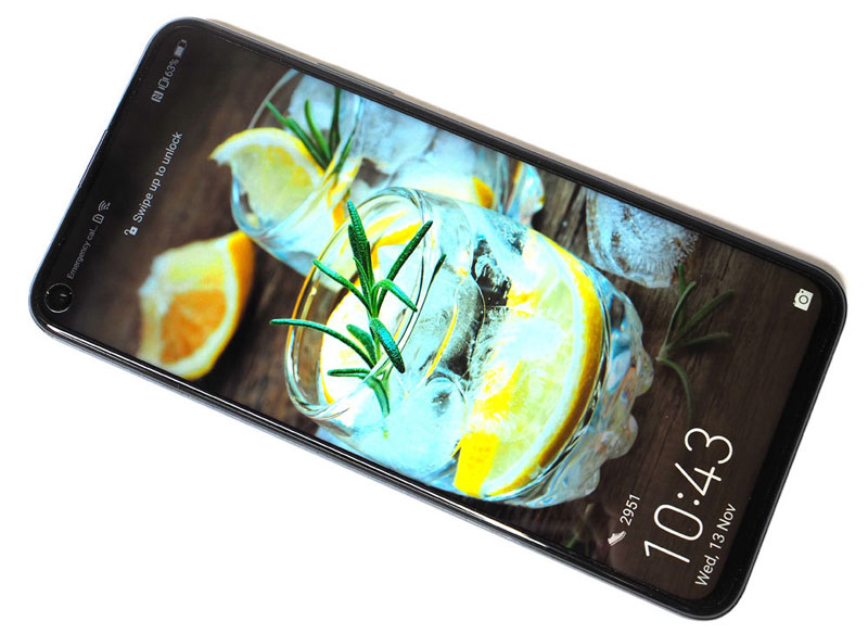 صفحه نمایش گوشی موبایل هوآوی Nova 5T ظرفیت 128 گیگابایت
