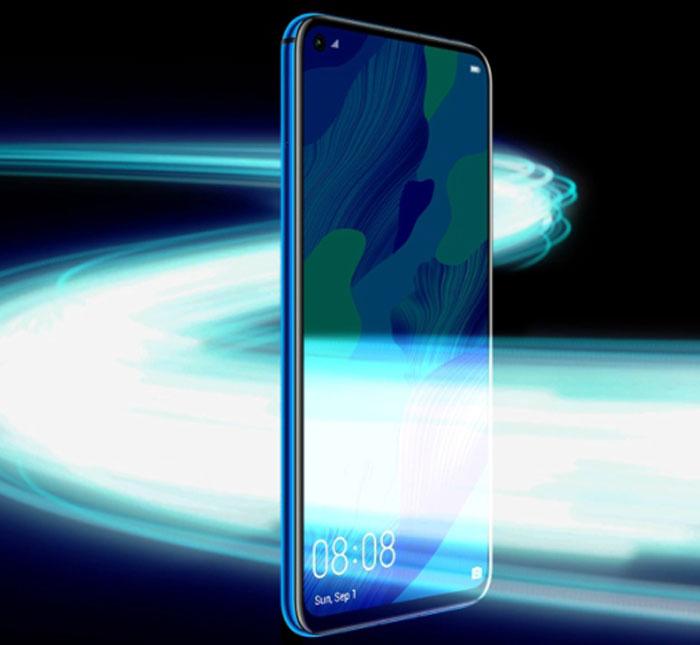 طراحی گوشی موبایل هوآوی Nova 5T ظرفیت 128 گیگابایت