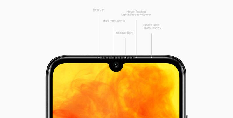 دوربین گوشی موبایل هوآوی Y6s-2019 ظرفیت 64 گیگابایت