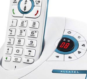 شرح کامل تلفن بی سیم آلکاتل مدل F370 Voice