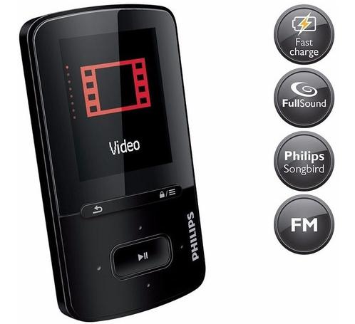 دستگاه mp4 پلیر فیلیپس مدل SA4VBE08KF/97